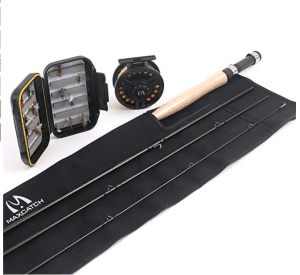 Maxcatch trout fishing rod (complete kit)
