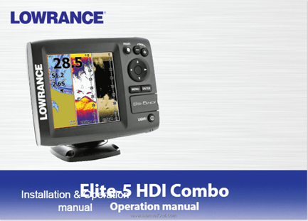 Lowrance Elite 5x HDI Review