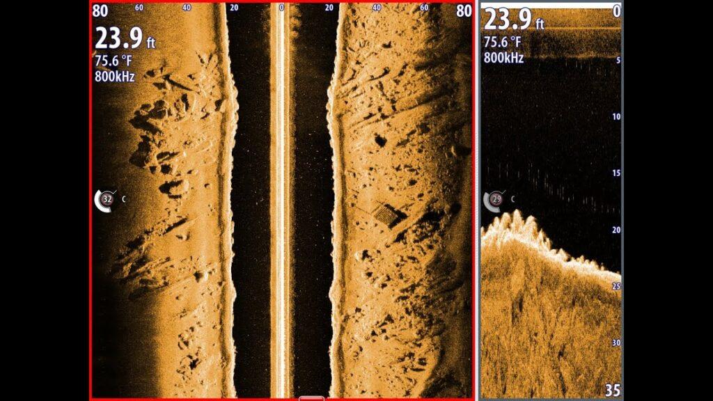 Lowrance side imaging fish finder