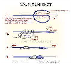 uni double knot