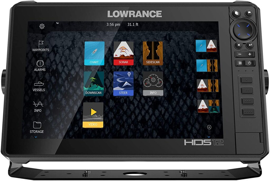 LOWRANCE HDS-12 review